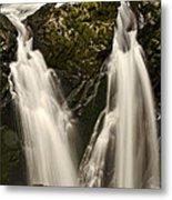 Sol Duc River Cascade Metal Print