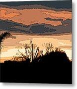 Solana Beach Sunset 2 Metal Print