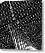 Solar City Metal Print