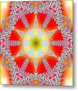 Solar Lava Metal Print