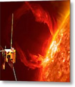 Solar Orbiter Metal Print