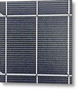 Solar Panel Collector Closeup View Metal Print