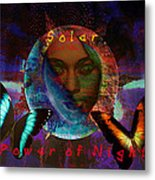 Solar Night Metal Print