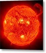 Solar Prominence Metal Print