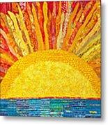Solar Rhythms Metal Print by Susan Rienzo