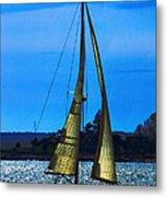 Solar Sail Metal Print