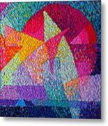 Solar Tapestry Metal Print by Diane Fine