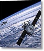 Solar Terrestrial Relations Observatory Satellites Metal Print