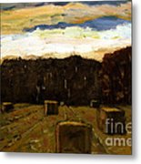 Sold Row By Row Metal Print