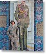 Soldier To Sedam Metal Print by Sharla Fossen