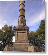 Soldiers And Sailors Monument - Boston Metal Print by Joann Vitali