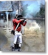 Soldiers Of The King Metal Print