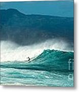 Sole Surfer Metal Print