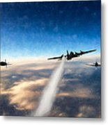 Wounded Warrior - Pastel Metal Print