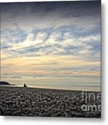Solice On The Beach Metal Print