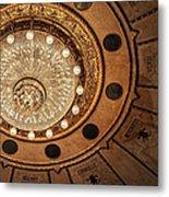 Solis Theater Ceiling Metal Print