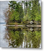 Solitude At Pinheys Point Ontario Metal Print by Rob Huntley