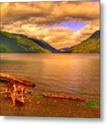 Solitude On Crescent Lake Metal Print
