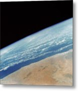 Somalia Seen From Space Shuttle Metal Print