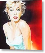 Some Like It Red Hot Metal Print