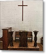 Some Of That Old Time Religion Metal Print