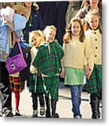 Some Sisters Enjoying Themselves At The 2009 New York St. Patrick Day Parade Metal Print