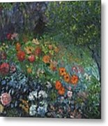 Somewhere A Garden Metal Print