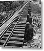 Somewhere Down The Line Metal Print