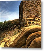 Somewhere In David Gareja Metal Print