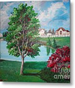 somewhere in Hilliard Metal Print by Soumya Bouchachi