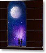 The View To Infinity Metal Print