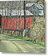 Somewhere In Vermont Metal Print