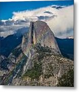 Somewhere Over Half Dome Metal Print