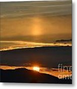 Somewhere Over The Mountain Metal Print