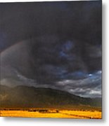 Somewhere Over The Rainbow Metal Print by Cat Connor