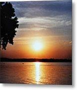 Somewhere Sunset  Metal Print