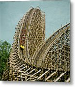 Son Of Beast Roller Coaster Metal Print