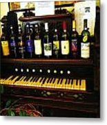 Song And Wine Metal Print