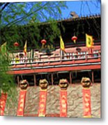 Song Dynasty Town In Dali 2 Metal Print