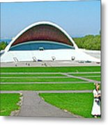 Song Festival Amphitheatre In Tallinn-estonia Metal Print