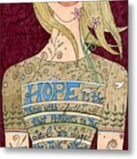 Song Of Hope Metal Print
