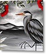 Song Of The Heron Metal Print