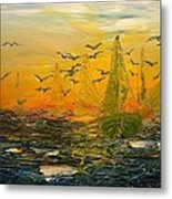 Song Of The Wind Metal Print