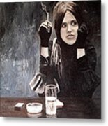 Sonja In Grisaille Metal Print