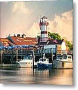 Sono Seaport Seafood Metal Print