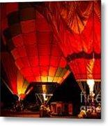 Sonoma County Hot Air Balloon Classic Metal Print