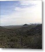 Sonoran Foothills Metal Print