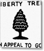 Sons Of Libery Symbol, 1776 Metal Print