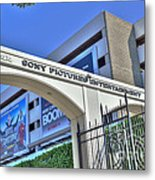 Sony Pictures Entertainment Production Distribution Metal Print