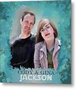 Soon To Be Mr And Mrs Jackson Metal Print